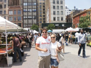 Feira orgânica em NYC