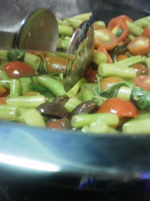 Salada quente especial